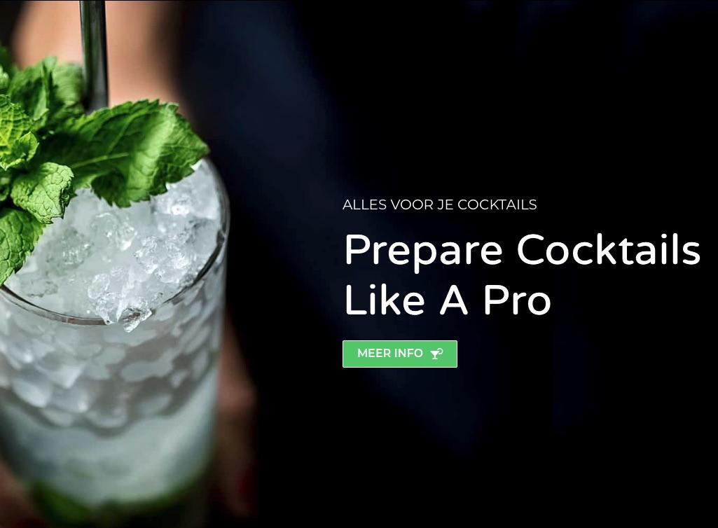 Webshop cocktail-shaken.nl