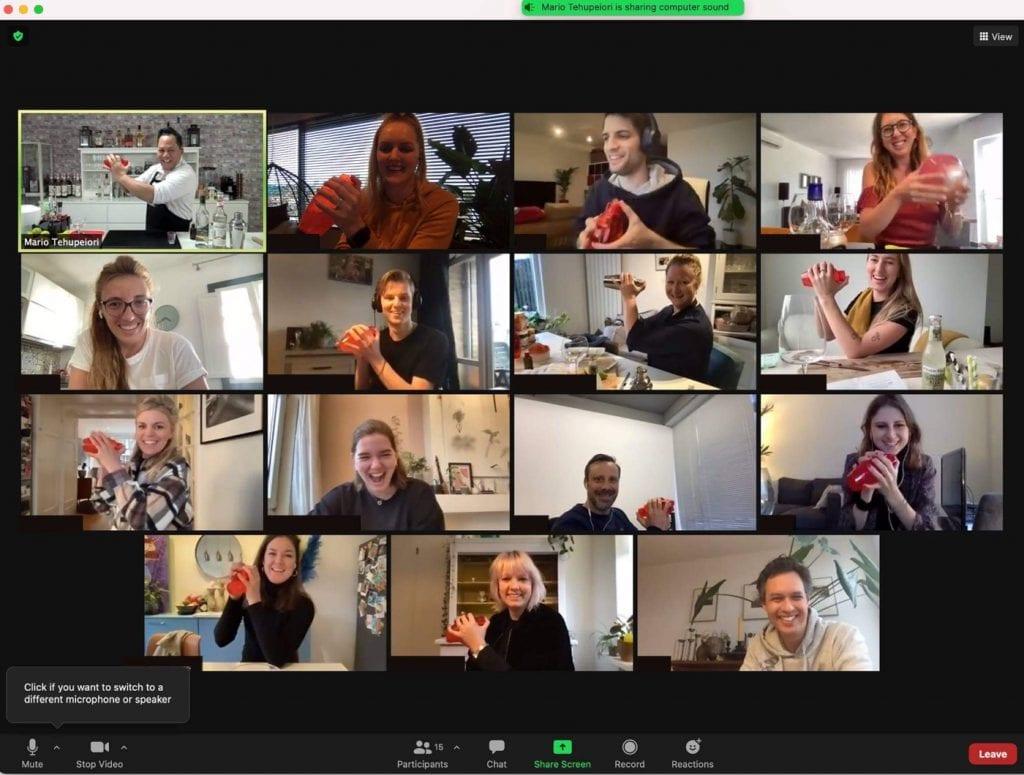 online cocktail workshop cocktail-shaken.nl
