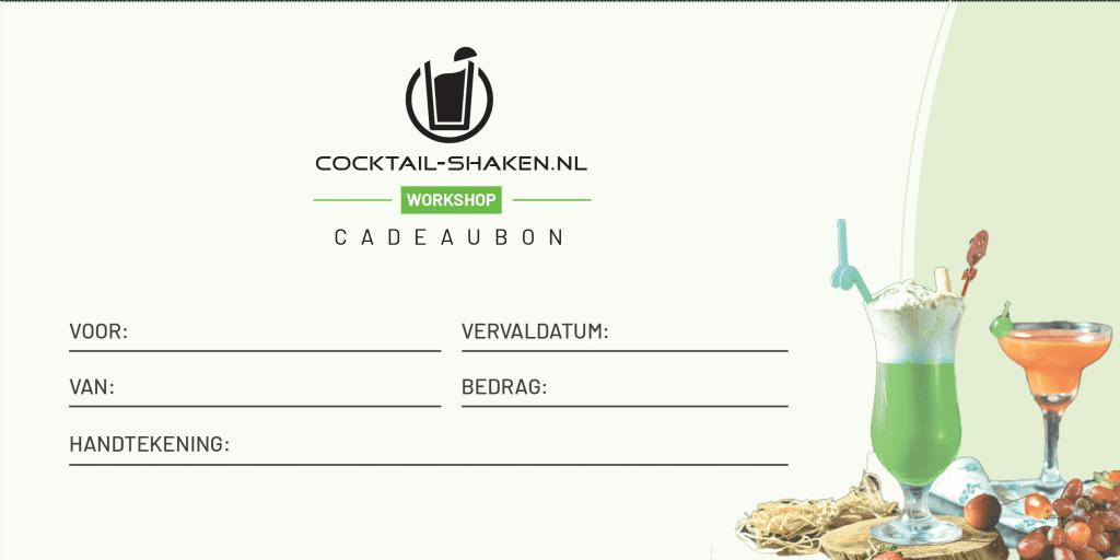 Cocktail-Shaken.nl cadeaubon